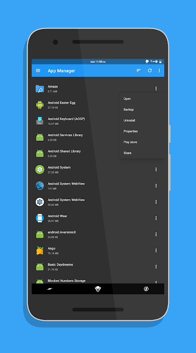 Amaze File manager - Best File Managers for Android