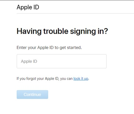 Apple ID_Sign in problem
