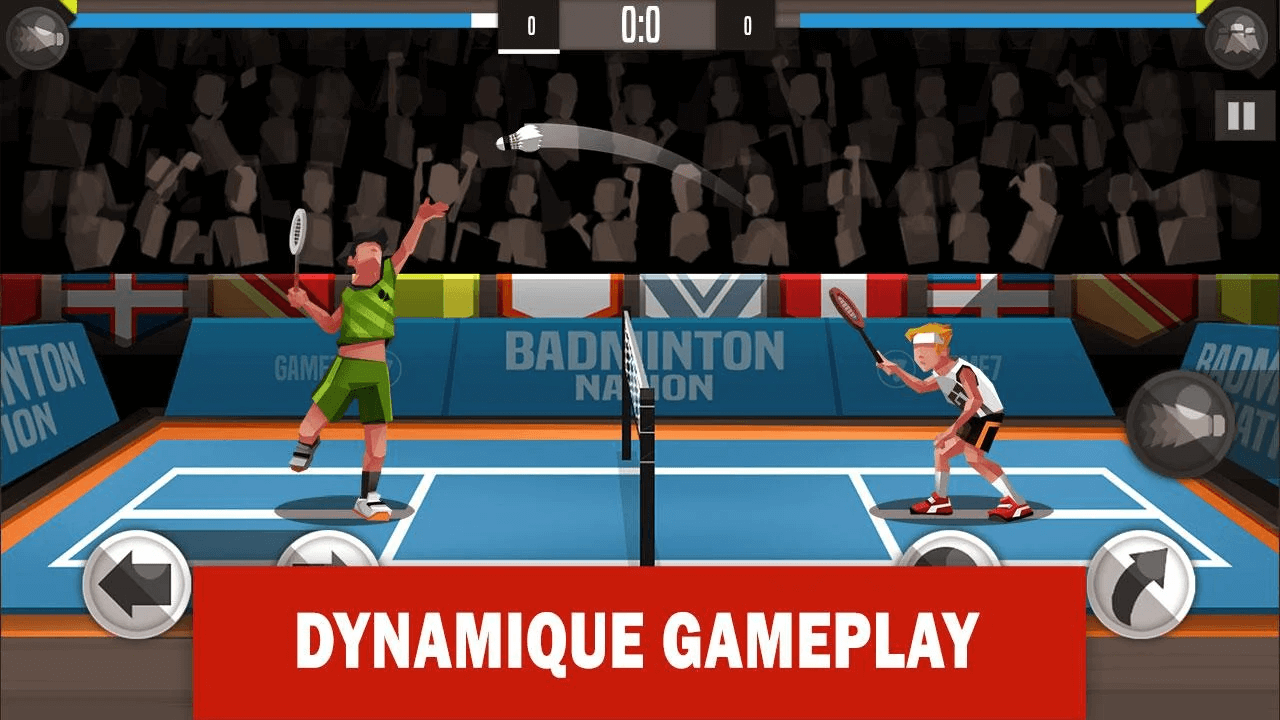 Badminton League - multiplayer Android games
