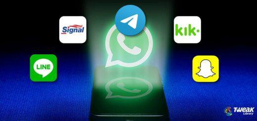 Best WhatsApp Messenger Chat Alternatives 2019