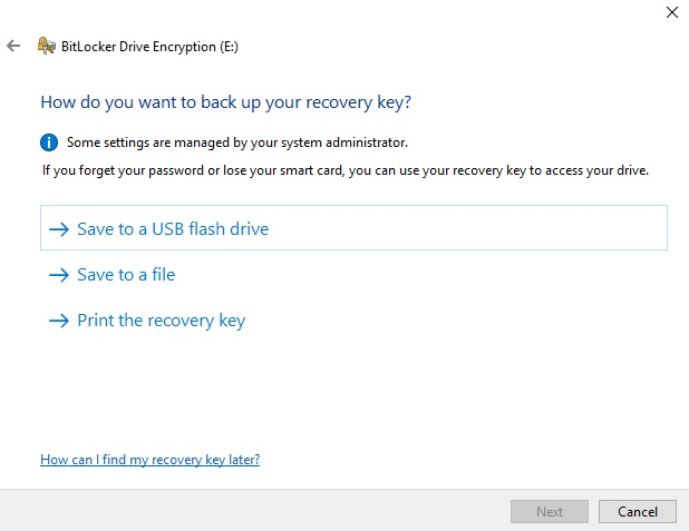 BitLocker Drive Encryption_Save