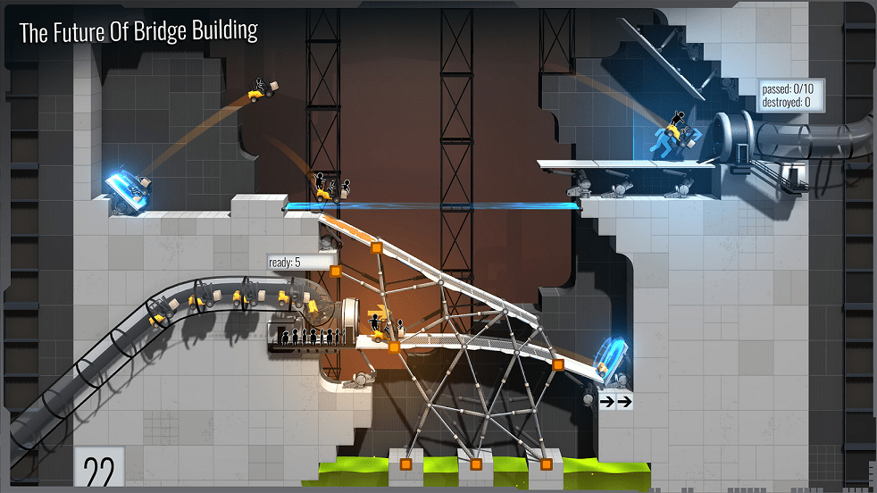 Bridge Constructor Portal-Best Puzzle Games for Android
