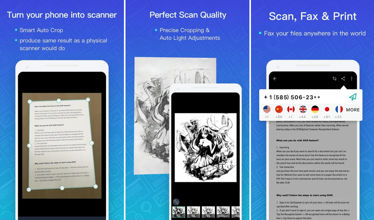 Camscanner- Android App
