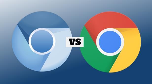 Chromium vs Chrome_