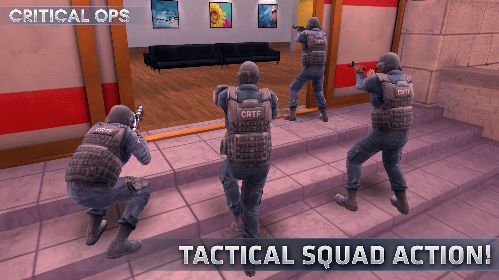Critical ops - online multiplayer games Android