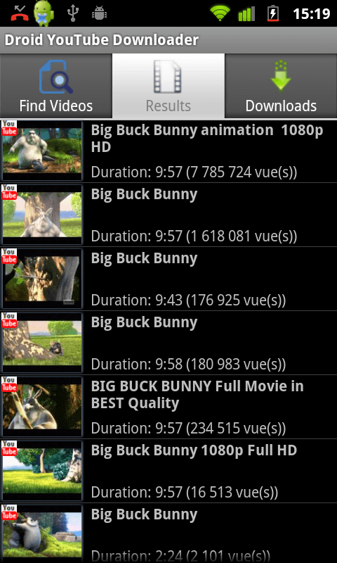 Droid YouTube Downloader - YouTube Converter to MP3 for Android