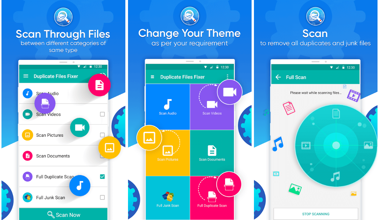 Duplicate Files Fixer - Android App