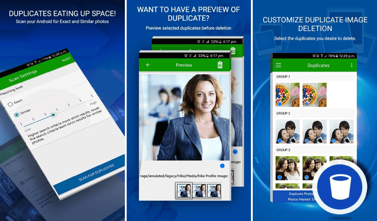 Duplicate Photos Fixer - android App