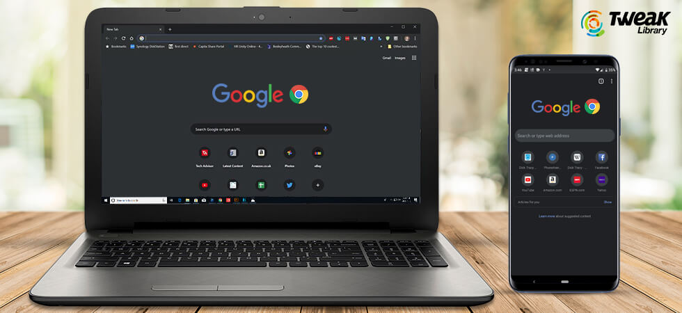 How to Get Google Chrome Dark Mode Theme on PC and Android
