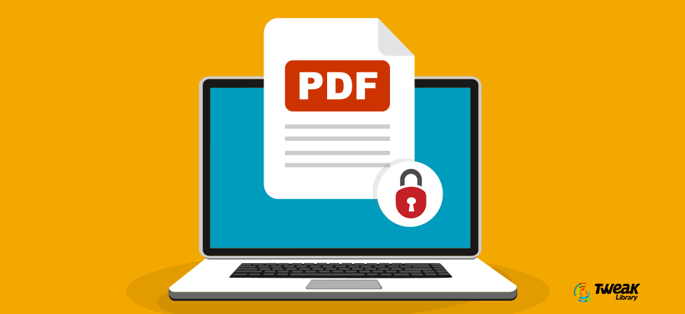 How To Password Protect A PDF File