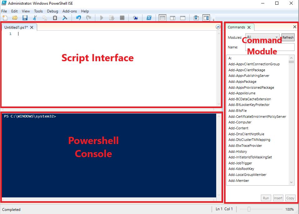ISE - PowerShell Script