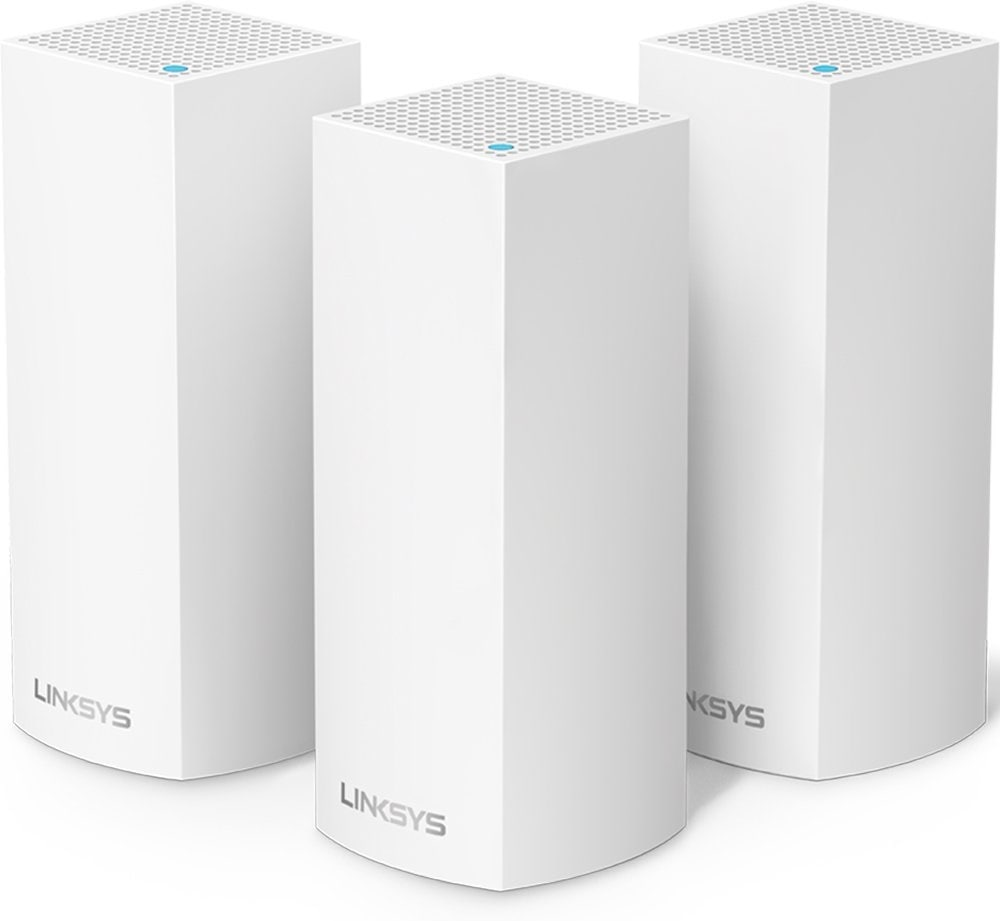 Linksys Velop Tri-Band Home Mesh WiFi System best wireless router for large home