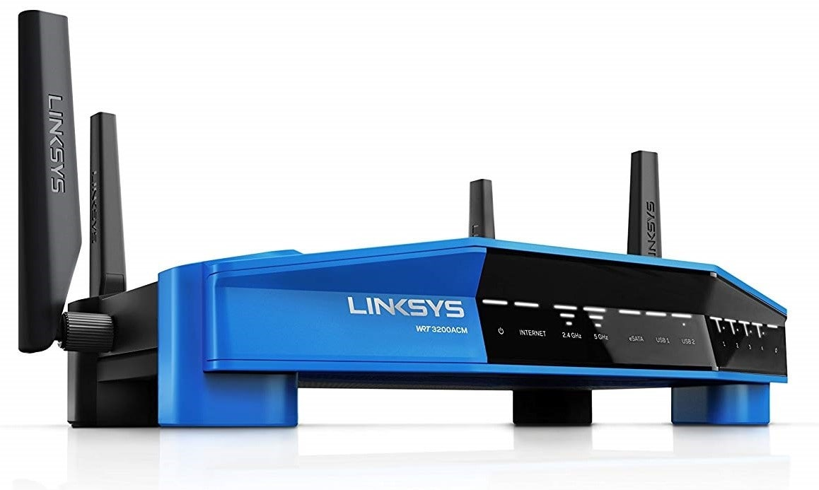 Linksys WRT AC3200 Dual-Band Tri-Stream