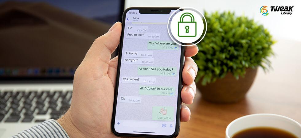 Lock Particular Chat In WhatsApp