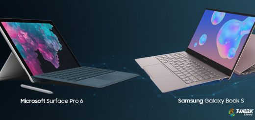 Microsoft Surface Pro 6 and Samsung Galaxy Book S