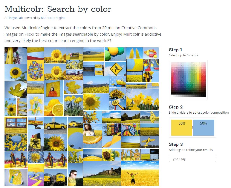 Multicolr -search by color