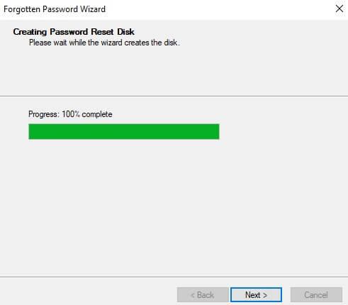 Password Reset Disk_Windows 10_ 4 step
