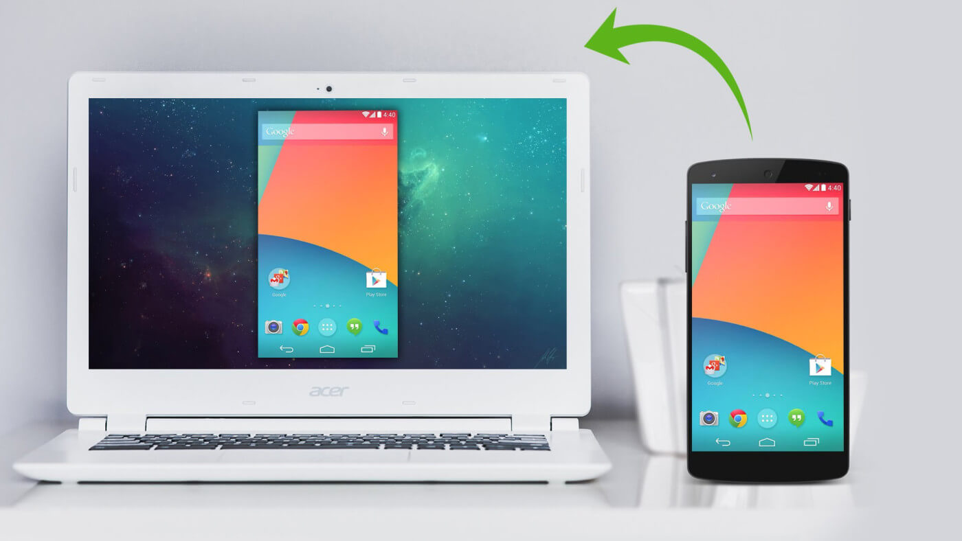 Vysor screen mirroring - Control Android Phone From PC