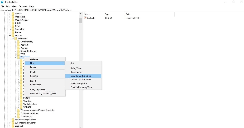 Windows Search_DWORD