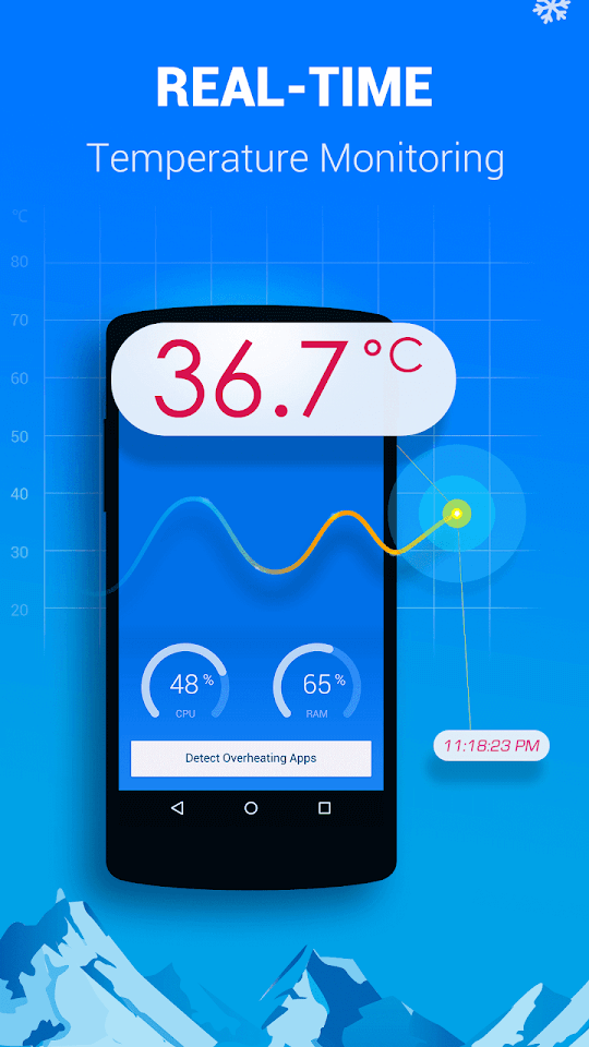 coolmaster - cool down phone temperature