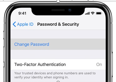 iPhone_Password and Security