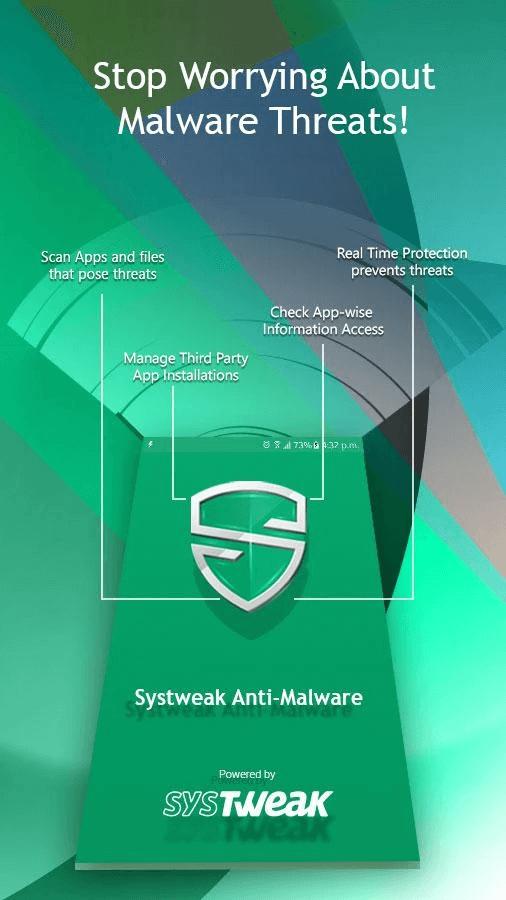 systweak anti malware - mobile temperature