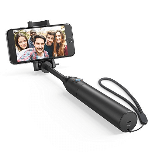 Anker Bluetooth Highly-Extendable and Compact Handheld Monopod - best selfie stick for iphone 11