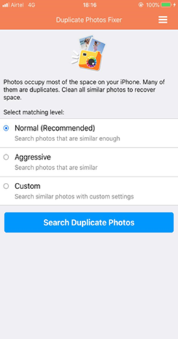 Duplicate Photos Cleaner For iPhones
