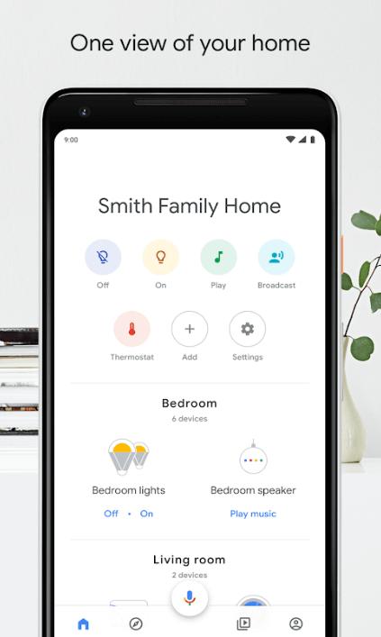 Google Home Console