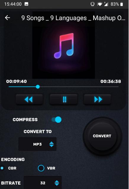 MP3, MP4 Audio Video process