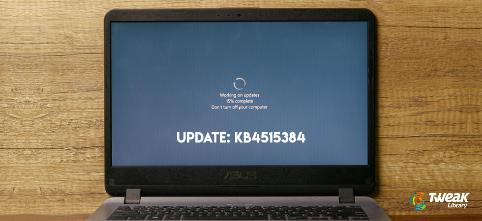 Microsoft's cumulative update KB4515384