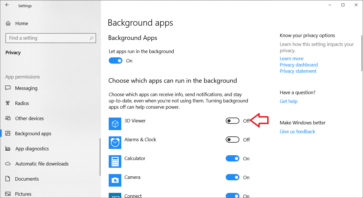 Stop Specific Background Apps