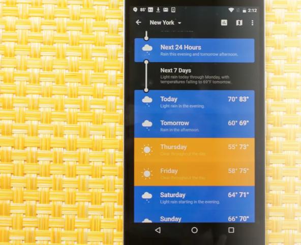 Weather Apps & Widgets
