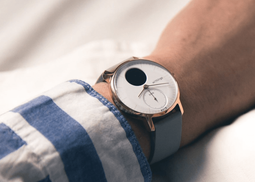 Withings Steel Hr Hybrid Smartwatch - Sleep Tracker