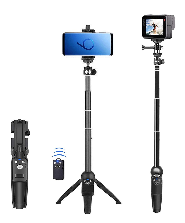 selfie stick tripod - best selfie sticks for iPhone 11