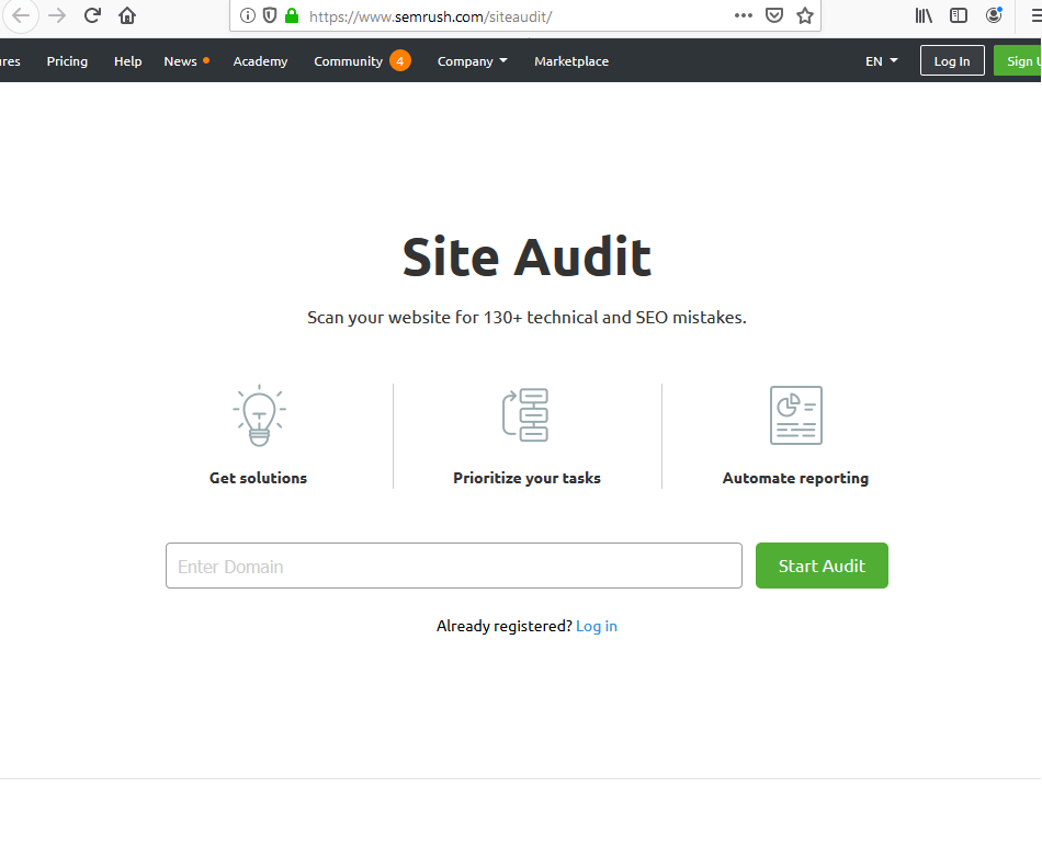 The 6-Minute Rule for Semrush Audit