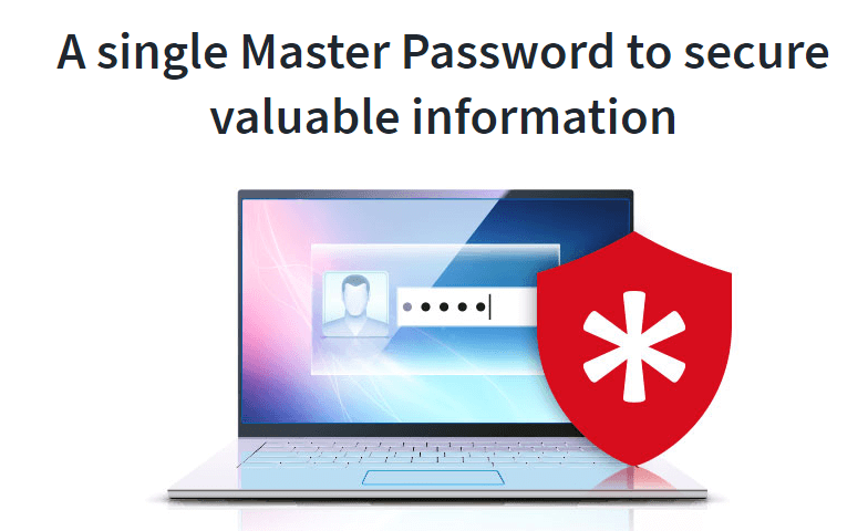 single master password - password managers