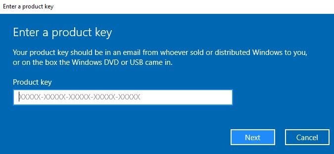 windows key - pirated windows 10