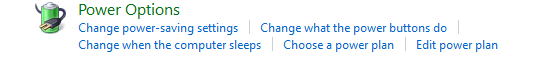 Setting for disable sleep mode