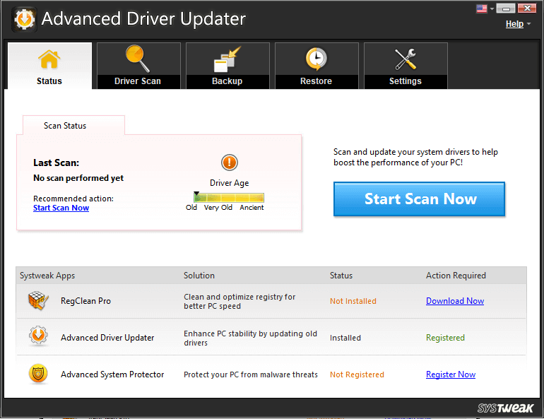Advance Driver Updater