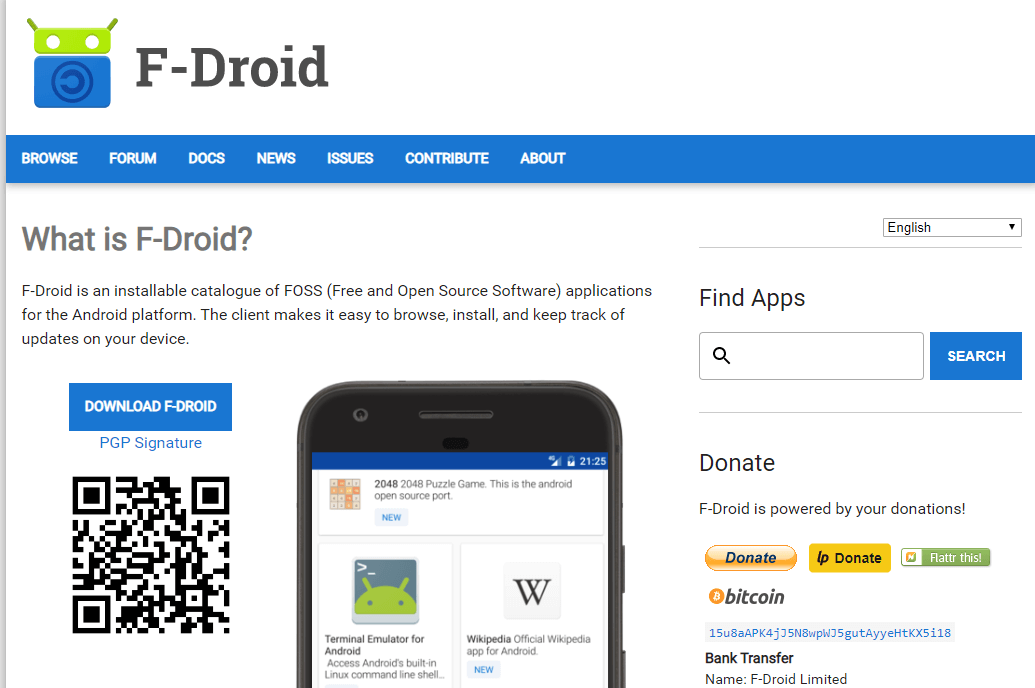 F-Droid- Google Play Store Alternative