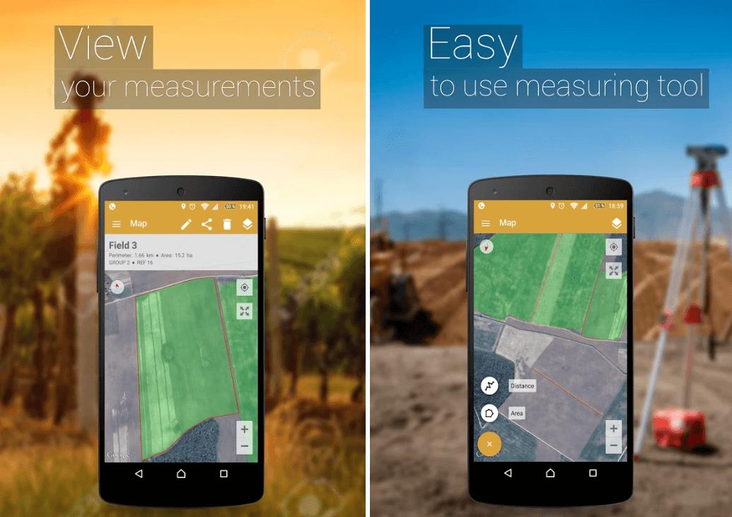 GPS Field Area Measure
