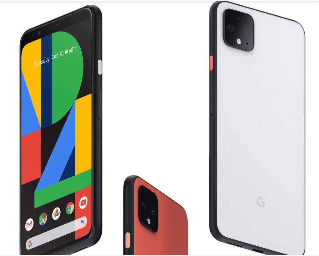 Google Pixel and Pixel 4XL
