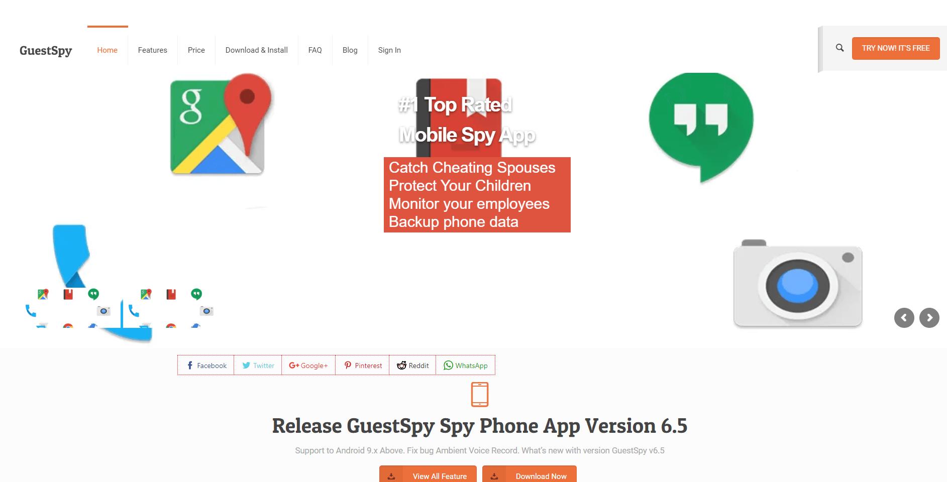 GuestSpy - Whatsapp Tecker App