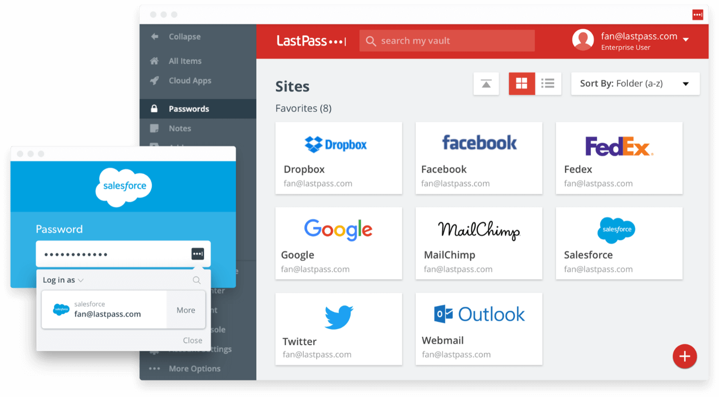 LastPass - One time password