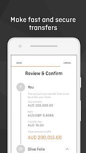 OFX - Money Transfer App