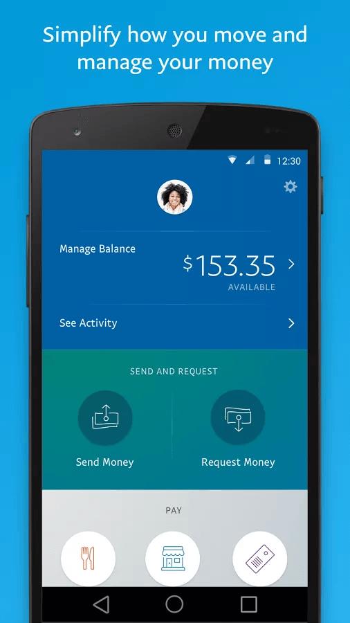 PayPal - Money Transfer App