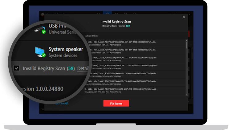 Registry-Scan
