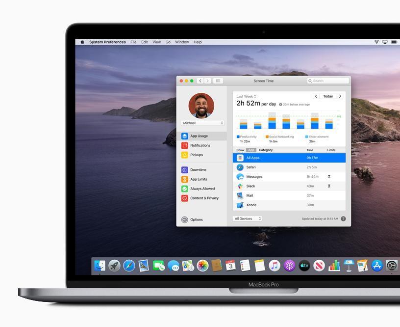 Screen-Time on Mac