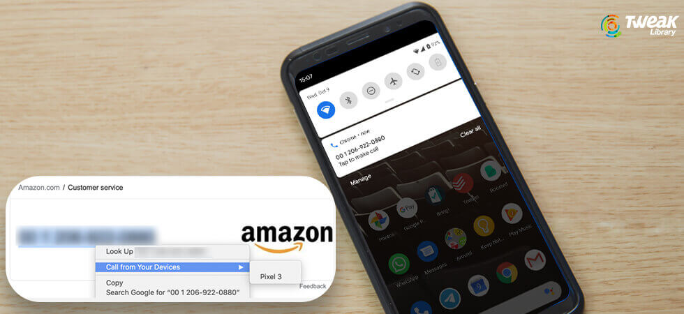 Sending Phone Numbers From Chrome To Android Device Is Possible